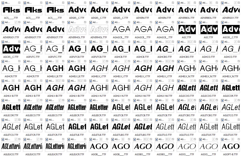 250 русских шрифтов скачать бесплатно