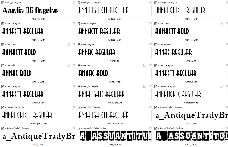 Все русские шрифты скачать одним файлом